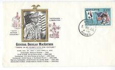 1966 Daegu Korea, Douglas MacArthur General Cacheted Cover