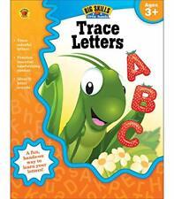 Carson Dellosa   Trace Letters Workbook   Preschool–Kindergarten, 32pgs