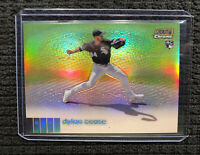 Dylan Cease 2020 Topps Stadium Club Chrome Gold Refractor Rookie RC /50 Chi Sox