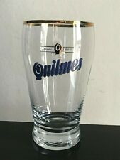 Very Rare Used Collectable Vintage Lovely QUILMES Glass Beer Glass Argentina