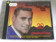 CD GEORGE JONES - 20 GREATEST HITS - CD 2630222