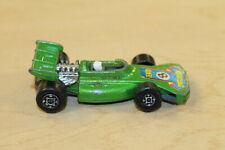 Vintage 1973 MATCHBOX/LESNEY - No. 24 Green Team Race Car #8 Label - England