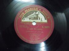 "HULCHUL SHAFFI BOLLYWOOD N 36623 RARE 78 RPM RECORD 10"" INDIA VG+"