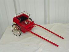 Vintage Style Halflinger Horse Drawn Jog Jogging Cart Classic Size Models
