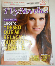 TV y Novelas Magazine Lucero & Aaron Diaz Diciembre 2013 011315R