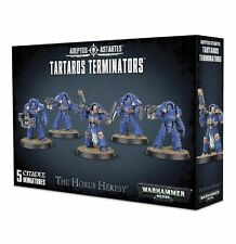 Warhammer 40K 30k Burning at Prospero Tartaros Terminators Squad (5) carton