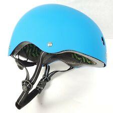 Nutcase Bike Helmet Blue Matte, Adult Large, Skateboarding, BMX +Removable Visor