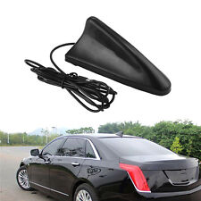 Universal Black Car SUV Auto Roof Radio AM/FM Signal Booster Shark Fin Antenna