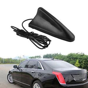 Universal Black Car SUV Auto Roof Radio AM/FM Signal Booster Shark Fin Antenna