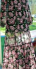 Forever 21 floral long sleeve maxi dress size Medium