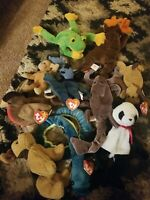 Ty Beanie Babies And Teanie Babies Lot Of 11 Most With Pristine Tags (DEAL!)