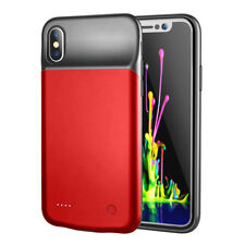 iPhone X Red PowerCase - 3200mAh - Raised Edges & Back - Complete Protection