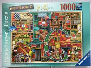 Brand New Ravensburger 1000 Piece Jigsaw Puzzle - AWESOME ALPHABET No.5, F & G..