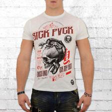 Yakuza T-Shirt Herren 893 Babagna Under My Bed weiss Männer Tshirt 12006 Jakuza