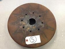 1926 1927 1928 WILLY'S KNIGHT REAR BRAKE DRUM - WILL CLEAN UP NICELY! ORIGINAL