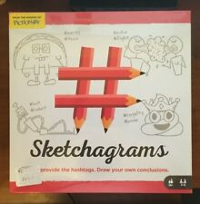 Sketchagrams Pictionary Family Board Game NEW SEALED
