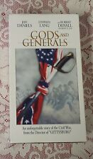 GODS AND GENERALS - THE STORY OF THE CIVIL WAR - 2 VHS TAPE SET