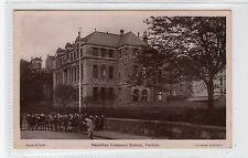 HAMILTON CRESCENT SCHOOL, PARTICK: Glasgow postcard (C27860)