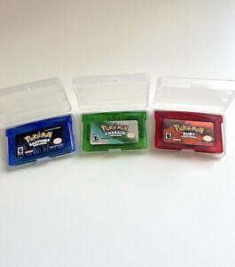 Pokemon Gameboy Advance Bundle Ruby Sapphire and Emerald
