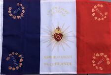 DRAPEAU Sacré Coeur  FRANCAIS bandiera flag france catholique roi jésus royal ..