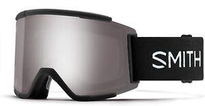 Smith Optics Squad XL Snow Goggles,Black Frame/ChromaPop Sun Platinum Mirror