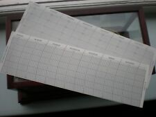 Barograph SAMPLE CHARTS INCHES / MILLIBARS PAPERS  parts spares barometer clock