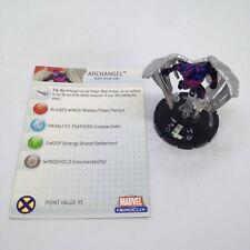Heroclix Mutations and Monsters set Archangel #034 Rare figure w/card!