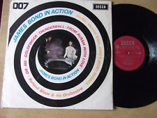 "ROLAND SHAW & HIS ORCHESTRA ""007 JAMES BOND IN ACTION"" LP RED DECCA LK 4730 1965"