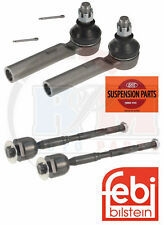 SANKE Outer + Febi Inner Tie Rod End (Set of 4) for Lexus GX470 Toyota 4Runner