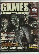 GAMES UNPLUGGED MAGAZINE - #9/10 (RPG'S)
