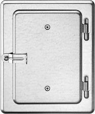 Upmann Kamintür Kaminklappe 12x18 Cm verzinkt