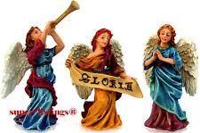 Dept. 56 Holy Land Heralding Angels Set of 3 Retired 2005 Bethlehem 59759