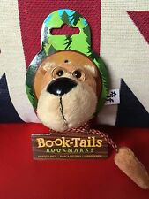 Book-Tails Bookmarks - Bear. Furry Animals with very long Tails. Gift, Brand New