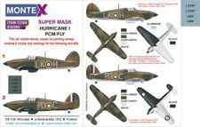 Montex 1/32 Hurricane I Paint Mask for Fly/Pacific Coast Models