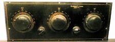 vintage*  ROBERT C. LOUD radio:  Untested CHASSIS w/ BAKELITE FACEPLATE & KNOBS