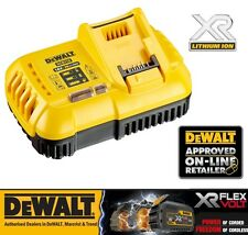 DeWALT DCB118 XR & Flexvolt Fast Li-Ion Battery Charger 18v-54v 6Ah 9Ah NEW