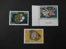 Mayotte 1999 Marine Life Fish Stamps MNH