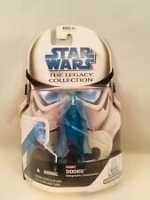 Star Wars The Legacy Collection Count Dooku Action Figure Holographic