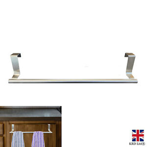 36cm Kitchen Cabinet Door Hook Hanger Tea Hand Towel Rail Holder Storage UK