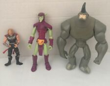 Marvel Action Figure Lot Of 3 - Thor , Green Goblin And Rhino