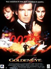 Affiche 40x60cm GOLDENEYE /007 - JAMES BOND (1995) Pierce Brosnan TBE