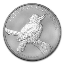 2010 Australia 1 oz Perth .999 Silver Kookaburra (from mint roll)
