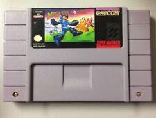 Mega Man Soccer ☆☆ Authentic, Fully Tested ☆☆ - SNES Super Nintendo [S]