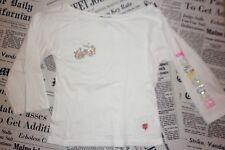 T.shirt blanc M 3/4 + paillettes STADE TOULOUSAIN t.34 36 (= 12 14 a)  NEUF