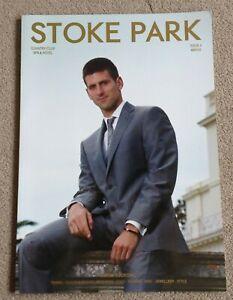 Novak Djokovic Stoke Park Golf Club Lifestyle magazine