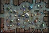 DONJEONS ET DRAGONS TAPIS DE JEU / GAME MAT MERCHANT'S BAZAR