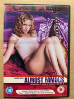 Almost Famous DVD 2000 Teen Rolling Stone Rock Music Journalist Drama Classic