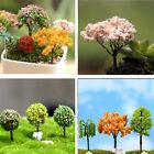 Miniature Tree DIY Ornament Decor Craft f/ Fairy Garden Dollhouse Plant Pot