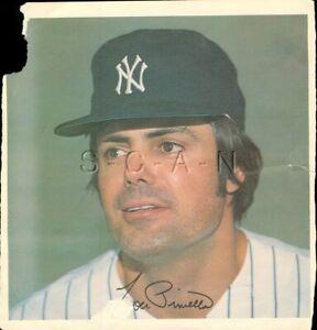 Original 1978 New York Yankees Large Baseball Player Lithograph- Lou Piniella