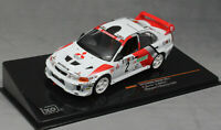IXO Mitsubishi Lancer Evo V Champions Meeting 1998 Richard Burns RAM524 1/43 NEW
